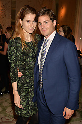 GEORGIA POWNALL and LUCA SAVELLI at the IWC Schaffhausen hosted Private Screening of The Lobster In Celebration Of The BFI - before the screening a drinks reception was held at The Langham Hotel, London on 15th October 2015.