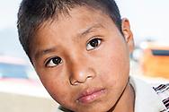 Chapas,San Juan Chamula,Ritratto di un ragazzino del posto.