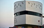 Nederland, Nijmegen, 11-9-2014De Walvis, verkeerspost van rijkswaterstaat om het binnenscheepvaartverkeer op de waal te begeleiden.De radarbeelden zien tot aan lobith. De sluis van Weurt is met video te controleren.Foto: Flip Franssen/Hollandse Hoogte