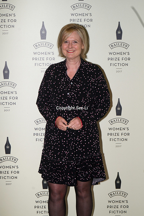 London,UK. 7th June 2017. Jude Kelly attends a photocall The Baileys Prize for Women's Fiction Awards 2017 at the The Royal Festival Hall, Southbank Centre. by See Li