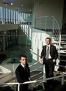 Valenza, sn Paolo Re, vicepresidenti RECARLO gioielli, dx ... Re direttore commerciale