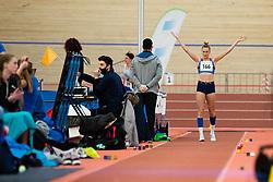 Neja Filipic during Slovenian Indoor Championship, Olympic centre Novo Mesto, 13 February 2021, Novo Mesto, Slovenia. Photo by Grega Valancic / Sportida