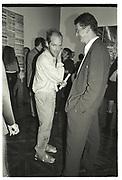 GAVIN TURK, Sensation Opening. Royal Academy of Art. London.16 September 1997.