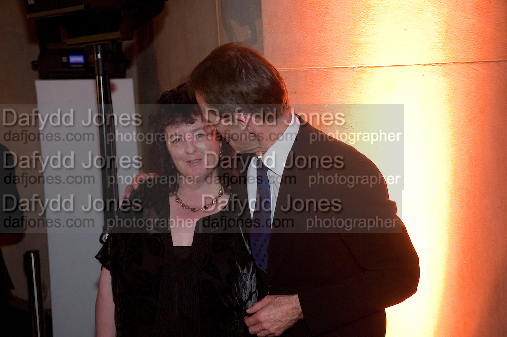 CAROL ANN DUFFY; SIR NICHOLAS SEROTA, Turner prize 2009. Tate Britain. Millbank. London. 7 December 2009