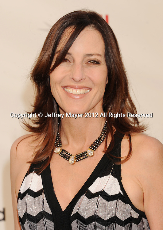LOS ANGELES, CA - JUNE 07: Cecilia Peck arrives at the 40th AFI Life Achievement Award honoring Shirley MacLaine at Sony Pictures Studios on June 7, 2012 in Los Angeles, California.
