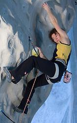 Climber Olga Shalagina (UKR) at World cup competition in Zlato polje, Kranj, Slovenia, on November 15, 2008.  (Photo by Vid Ponikvar / Sportida)