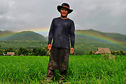 Farmer in Mae Sariang, Thailand