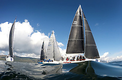 Lights winds dominated the Pelle P Kip Regatta  at Kip Marine weekend of 12/13th May 2018<br /> <br /> IRL1141,Storm, Pat Kelly, Howth YC / Rush SC, J109<br /> <br /> Images for Editorial use in connection with Pelle P Kip Regatta<br /> <br /> Images: Marc Turner