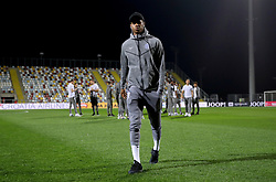 England's Marcus Rashford inspects the pitch before the UEFA Nations League match at Stadion HNK Rijeka in Croatia.