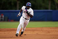 09 June 2012: Florida's Josh Tobias. The University of Florida Gators defeated the North Carolina State University Wolfpack 7-1 at Alfred A. McKethan Stadum in Gainesville, Florida in Game 1 of their NCAA College Baseball Super Regional series.