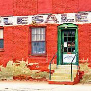The historic Janney-Marshall Company warehouse in Fredericksburg, VA.