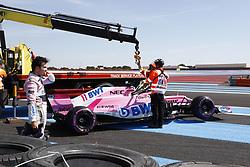 June 22, 2018 - Le Castellet, France - Motorsports: FIA Formula One World Championship 2018, Grand Prix of France, ..#11 Sergio Perez (MEX, Sahara Force India F1 Team) (Credit Image: © Hoch Zwei via ZUMA Wire)