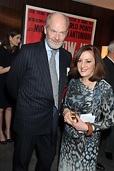 HARRY FANE and VIVIENNE BECKER at a party to celebrate the publication of The Impossible Collection of Jewelry by Vivienne Becker hosted by Assouline and Bulgari at the Bulgari Hotel, 171 Knightsbridge, London on 17th January 2013.