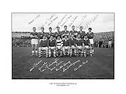 All Ireland Senior Football Championship Final, Cork v Meath, 24.09.1967, 09.24.1967, 24th September 1967, Meath 1-9 Cork 0-9, Referee J Moloney, Captain P Darby, 24091967AISFCF,<br /> Cork Team