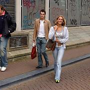 NLD/Amsterdam/20050808 - Deelnemers Sterrenslag 2005, Kelly van der Veer en partner Arnoud