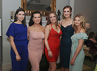 Katie Hogan, Chloe McGing Derabhla Grealis, Molly Moore and Sarah Harper pictured at Kilmeena Gaa Club Valentine's Dinner dance function at Knockranny House Hotel.<br />