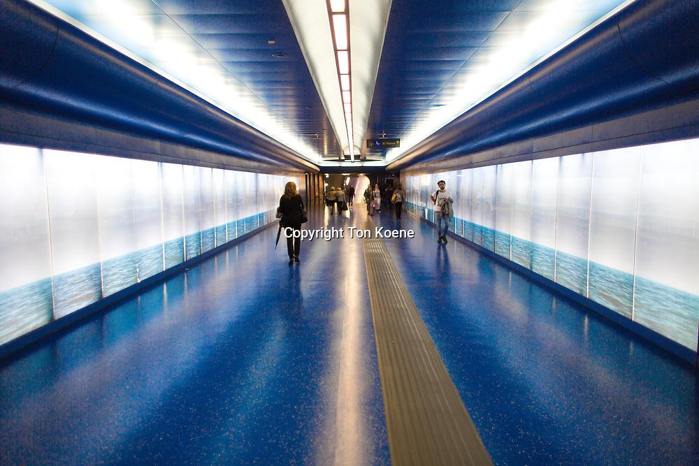 Toledo metro station and Montecalvario exit, naples