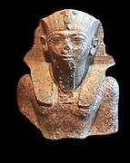 King Thutmose IV, 1401-1391 BC, found at Medamud, Granite