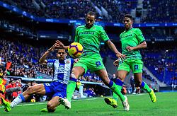 16 th, December  2018, RCDE Stadium, Cornellà, Spain. ..La Liga, partido entre el RCD Espanyol y el Real Betis Balompié...Rosales (8), Sidnei (12) y Junior (20)...El partido ha finalizado (1-3) , con derrota del Espanyol en casa...© Joan Gosa 2018/Xinhua 2018. (Credit Image: © Joan Gosa/Xinhua via ZUMA Wire)