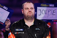Ryan Joyce ready for his walk-on during the World Darts Championships 2018 at Alexandra Palace, London, United Kingdom on 29 December 2018.