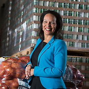 Gloria Crockett, , Chief Development Officer at Second Harvest Food Bank of Orange County, California, at the facility's Irvine headquarters. Ms Crockett is trying to hire a major gifts officer with the help from a Feeding America grant.