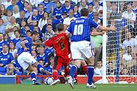 Photo: Ashley Pickering.<br /> Ipswich Town v Coventry City. Coca Cola Championship. 22/09/2007.<br /> Pablo Counago (L) strikes the second for Ipswich