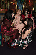 SUSIE CAVE, FLORENCE WELSH, DAISY LOWE, Nick Cave and the Bad Seeds with The Vampire's Wife and Matchesfashion.com party to celebrate the end of their 2017 World tour. Lou lou's. Hertford St. Mayfair.