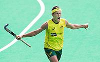 ANTWERP -    Jamie Dwyer of Australia scored 0-2 during  the hockeymatch   India vs Australia.  WSP COPYRIGHT KOEN SUYK