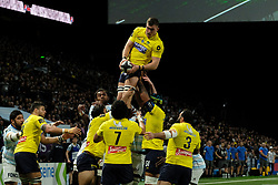 January 8, 2018 - Nanterre, Hauts de Seine, France - Clermont Fullback SCOTT SPEDDING in action during the French rugby championship Top 14 match between Racing Metro 92 and Clermont at U Arena Stadium in Nanterre - France.Racing won 58-6 (Credit Image: © Pierre Stevenin via ZUMA Wire)
