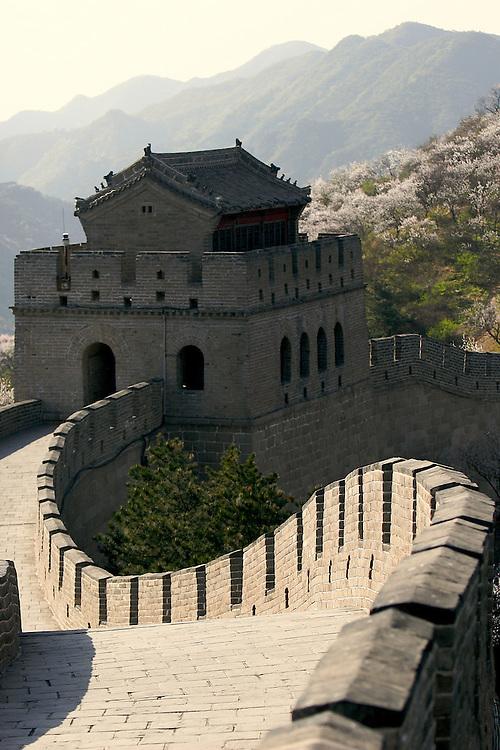 The Great Wall at Badaling in China.