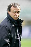 """L'Allenatore del Catania Pasquale Marino<br /> Catania Trainer Pasquale Marino<br /> Italian """"Serie A"""" 2006-07<br /> 11 Mar 2007 (Match Day 28)<br /> Torino-Catania (1-0)<br /> """"Olimpico""""-Stadium-Torino-Italy<br /> Photographer: Luca Pagliaricci INSIDE"""