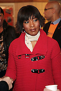 New York, NY- January 16: Actress Angela Bassett at the New York City Service Program in Honor of Martin Luther King Jr. Day held at the Mirabel Sisters Campus in West Harlem, New York City. Photo Credit: Terrence Jennings