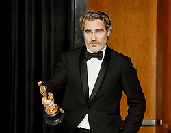 Joaquin Phoenix at the 92nd Academy Awards - Press Room held at the Dolby Theatre in Hollywood, USA on February 9, 2020.