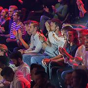 NLD/Amsterdam/20181031 - Boxingstars 2018, 1e aflevering, Niek Roozen, Thomas Dekker, , THolly Brood en Kaj Gorgels