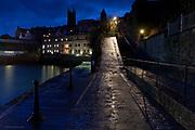 The Abbey Slip, Penzance at dusk