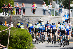 May 20, 2018 - Lillehammer, NORWAY - 180520 The peloton during the last stage of the Tour of Norway on May 20, 2018 in Lillehammer..Photo: Jon Olav Nesvold / BILDBYRÃ…N / kod JE / 160254 (Credit Image: © Jon Olav Nesvold/Bildbyran via ZUMA Press)