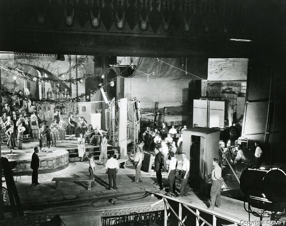 1928 Filming at Warner Bros. Studios