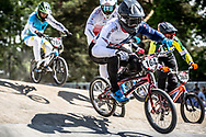 #164 (ISIDORE Quillan) GBR at Round 5 of the 2018 UCI BMX Superscross World Cup in Zolder, Belgium