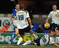 Photo: Ashley Pickering.<br />Ipswich Town v Leeds United. Coca Cola Championship. 16/12/2006.<br />Gavin Williams fires in the only goal of the game for Ipswich