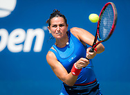 Amandine Hesse of France in action during the first qualifications round at the 2018 US Open Grand Slam tennis tournament, New York, USA, August 22th 2018, Photo Rob Prange / SpainProSportsImages / DPPI / ProSportsImages / DPPI