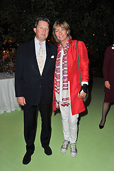ANDREW & SOPHIE BRUDENELL-BRUCE at a dinner hosted by Cartier in celebration of the Chelsea Flower Show held at Battersea Power Station, 188 Kirtling Street, London SW8 on 23rd May 2011.