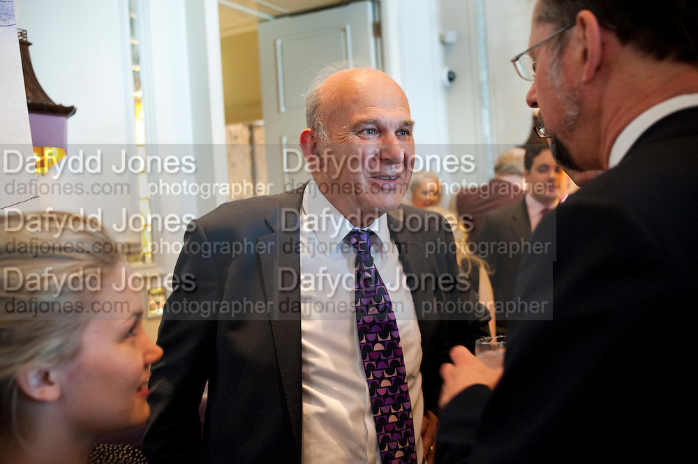 VINCE CABLE, SpearÕs Book Awards, The Langham, Portland Place. London. 30 June 2009.  The inaugural SpearÕs Book Awards, celebrating the very best writing talent and the books of the year Ð from finance to fiction.<br /> VINCE CABLE, Spear?s Book Awards, The Langham, Portland Place. London. 30 June 2009.  The inaugural Spear?s Book Awards, celebrating the very best writing talent and the books of the year ? from finance to fiction.