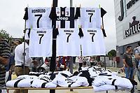 Shirts <br /> Torino 16-07-2018 Cristiano Ronaldo arrives for mediacal visits at J Medical <br /> foto Daniele Buffa/Image Sport/Insidefoto