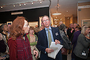 LADY QUINTON; A.N. WILSON, 20/21 British Art Fair. Celebrating its 25 Anniversary. The Royal College of Art . Kensington Gore. London. 12 September 2012.
