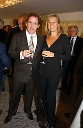 ROB BRYDON and his wife CLAIRE at the Lady Taverners Tribute lunch in honour of Ronnie Corbett held at The Dorchester Hotel, Park Lane, London on 3rd November 2006.<br /><br />NON EXCLUSIVE - WORLD RIGHTS