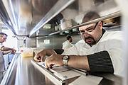 Milan, Bollate, InGalera Restaurant: Ivan and Fabio