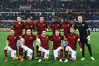Formazione AS Roma Team Line Up <br /> Roma 19-03-2015 Stadio Olimpico Football Calcio Europa League 2014/2015 Round of 16 AS Roma - Fiorentina. Foto Andrea Staccioli / Insidefoto