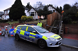 © Licensed to London News Pictures. 07/01/2016<br /> Ex-Eastenders actress Sian Blake's home in Erith,Kent has turned into a crime scene (07.01.2016) with officers from the Met's Homicide and Major Crime Command leading the murder investigation.<br /> <br /> (Byline:Grant Falvey/LNP)