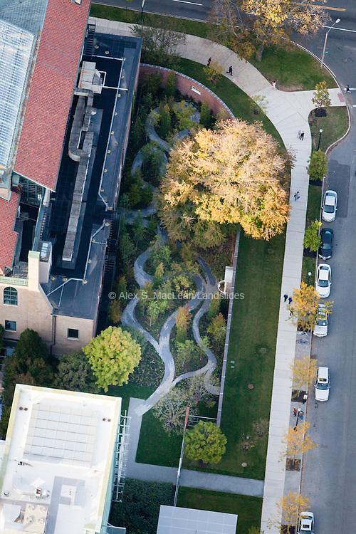Monk's Garden, designed by Michael Van Valkenburgh Associates, next to the Isabella Stewart Gardner Museum