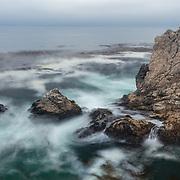 Rocky Point Heavy Surf - Big Sur, CA